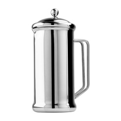Cafetiere 6 Cup Mirror Polished Stainless Steel