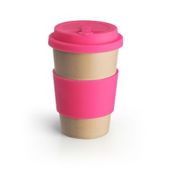 Eco To Go Sleeve For 12 oz Cup Pink