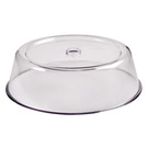 Plate Cover Clear Plastic Round 21cm