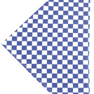 Brigade Neckerchieves Large Blue & White Check