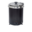 Chefmaster 6Ltr Soup Kettle - Black