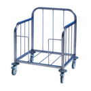 Tray Pick-Up Trolley -100 Tray - S/Steel Frame