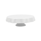 Mini Cake Pedestal Cloth Version White 15.3cm