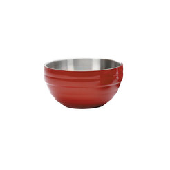 Red Round Insulated Serving Bowl 3.2 Litre