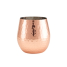 Ham. Copper Plated Stemless Wine Glass 55cl/19.25oz
