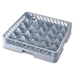 25 Comp Glass Rack 500 x 500 x 202mm Grey