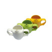 Dignity 2 Handle Feeder Cup Yellow Ceramic 25cl