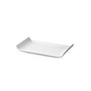 Rush Trays Rectangular White 17cm