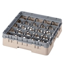 Camrack Glass Rack 25 Compartments Beige