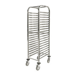 Prepara Self Assembly Gastronorm Trolley 20 1/1