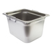 1/2 Gastronorm 200mm Stainless Steel With Handles