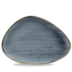 Stonecast Blueberry Triangle Chefs Plate