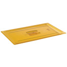 Gastronorm Plain Lid High Heat Poly 1/2 Amber