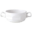 Monte Carlo Handled Soup Cup Ivory 28.5cl