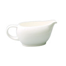 Alchemy White Sauce Boat 13.75cl