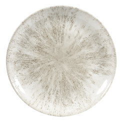 Stone Agate Grey Evolve Coupe Plate 11.25 Inch