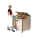 Foster Mobile Refrigerated Prep Counter 2 Door