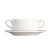 Vogue Handled Soup Cup White 35cl