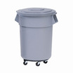 Brute Round Containers Grey 37.9ltr