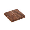 Acacia Wood Tablemats 25 x 25cm