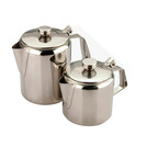 Cathay Teapot S/Steel 90cl Medium Gauge