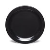 Kingline Plain Black Plate 23cm