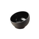Solid Mise En Bouche Bowl Black 4cl