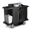 Rubbermaid 2 Locking Doors For Trolley HE6673