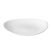 Orbit Coupe Plate Oval White 22.9 x 27cm