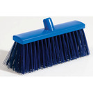 Professional Hygiene Broom Head Stiff Blue 28cm