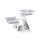 Swan Multi Level + Bowls S/S