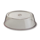 Plate Cover Clear Polycarbonate Round 23cm