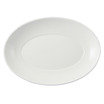 Flair Plate Deep Oval White 31.8cm