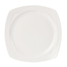 Simplicity Harmony Plate Square White 23 x 23cm