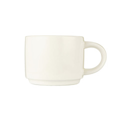 Compact Cup White Stackable 28.4cl