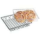 Display Basket Chrome Square 30 x 30 x 5cm