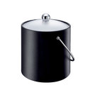 Insulated Ice Bucket 3l Black With Carry Handle