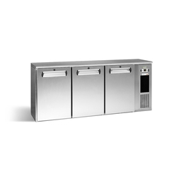 Gamko E3/222MUCS 3 Solid Door Bottle Cooler S/Steel