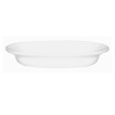 Alchemy White Bowl Oval 23cm