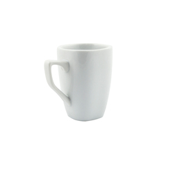 Superwhite Rounded Square Mug - 9OZ