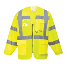 Portwest S475 Yellow Hi-Vis Executive Jacket