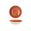 Stonecast Spiced Orange Coupe Bowl 18.2cm