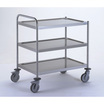 Clearing Trolley with 1 Handle - 3 Tray 1000x600mm