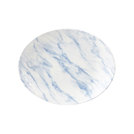 Textured Prints Blue Marble Oval Plate 31.7cm