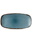 Harvest Blue Chefs' Oblong Plate 35.5 x 18.9cm 13 7/8 inch x 7 3/8 inch