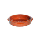 Terracotta Brown Dish 15cm