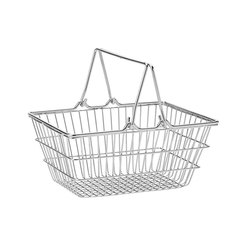 Mini Shopping Basket 7 x 5.25 inch S/S