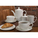 Monaco Vogue Teapot White 42.5cl