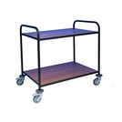 Trolley With Laminate Shelves 2 Tier