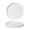 White Walled Plate 10 2/8 inch